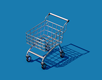 Race Shopping Cart
