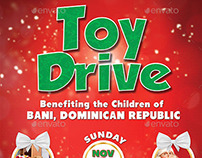 Toy Drive Flyer and Poster Template