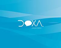 Diseño de Imagen corporativa y desarrollo web: Doxa