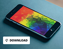 10+ Free iPhone 6 Wallpapers Low Polygonal