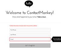 ContactMonkey Site Design