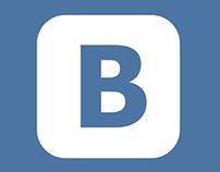Концепция редизайна ВКонтакте
