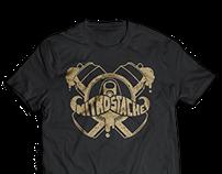 Nitro Stache T-Shirt Designs