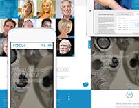Focus Clinics website redesign