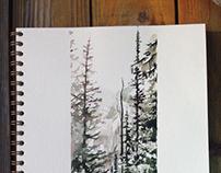 Cosy watercolor