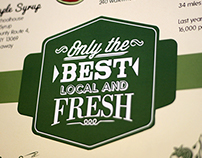 Only The Best Local And Fresh
