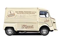 Kozel Branded Truck