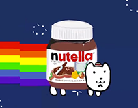 Nutella Cat