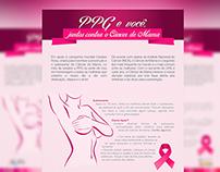 Campanha Outubro Rosa - PPG