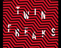 TWIN FREAKS - party e-flyer