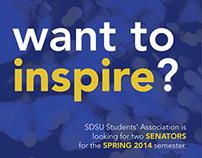 Students' Association Job Posters