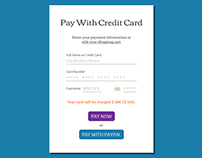 Code Fizz Credit Card Payment