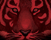 Tiger Wears Red