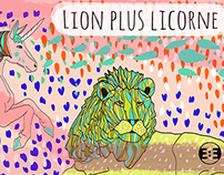 Lion plus Licorne - Limited Digital Prints