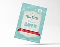 Christmas Postcard // Illustration