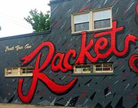 Racket Mural