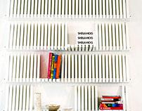 Piano Shelves (White)