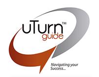 Diseño de logotipo y diseño web. Uturn Guide