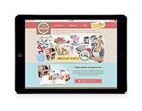 """DeAgostini """"Love Bakery"""" Website"""