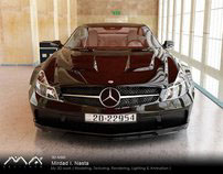 My 3D Work              Mercedes SL 65 AMG Black series