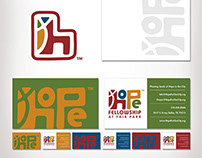Hope Fellowship Brand Identity Collateral