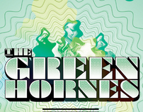 THE GREENHORNES. Poster