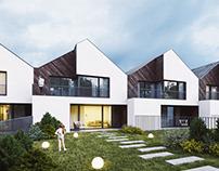 bdm architekci | kąty row house