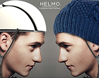 HELMO-Dressable and folding helmet