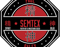 "Paul ""Semtex"" Daley Concept Logo"