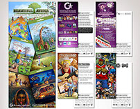 GrapevineStar Rack Cards and Product Sales Sheets