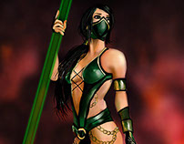 Jade the Mortal Kombat fighter
