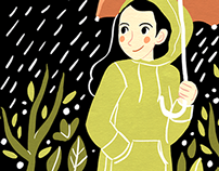 Into Each Life Some Rain Must Fall | Illustration