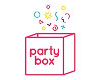 Party Box - E-commerce UX Design