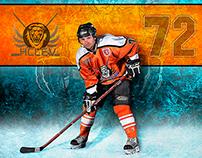 72 HC LEV - Hockey Poster
