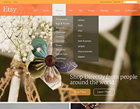 Etsy Website Redesign