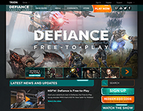Defiance re-design template site