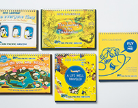 Cebu Pacific Desk Calendars