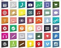 Foldicons Free Icon Set (Ai + PNG + SVG)