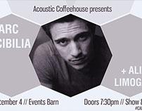 CAB Acoustic Coffeehouse - Marc Scibilia