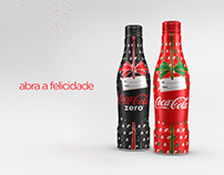 Coca-Cola Alu bottle Xmas