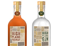 * High Plains Brandy + Gin : Indianola Distilling Co.//