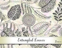 Entangled Leaves Invitation Collection