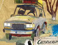 Caravane Via Brachy, Carnet de voyage au Sénégal