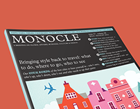 MONOCLE MAGAZINE LAYOUT