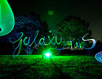 """Samsung Galaxy Tab S"" Light Painting"