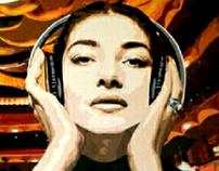 Ensayo para el debut neoyorquino  (Maria Callas, octubr