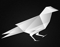 White Raven Design Logo