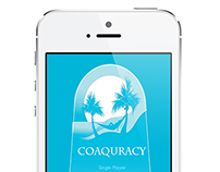 [UX/UI Design] Coaquracy game app for Coaqua (concept)