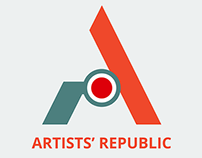 """Artists' Republic"" logo design"