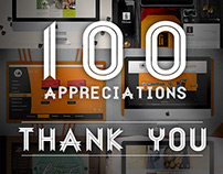 100 Appreciations, Thank You